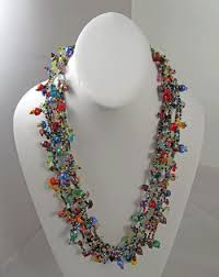 Beaded Jewelry Making - santa fe rose guatemalan beaded jewelry