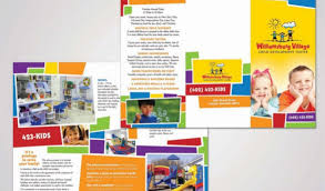 daycare brochure template child care brochure templates free renanlopes me