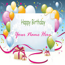 online birthday card write your name on beautiful birthday card online hbd wishes