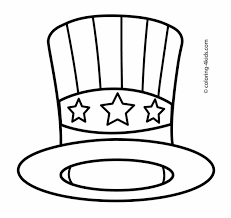 cowboy hat halloween cowboy hat coloring page for kids coloringpagefreecom snow hats