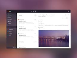 app design inspiration email application design inspiration december 2016