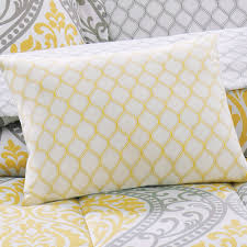 Chevron Print Bedding Set Nursery Beddings Yellow And Grey King Comforter With Yellow And