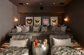 kris jenner home decor after the wallpaper selected by kris swift