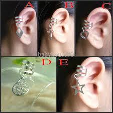 ear cuffs for sale philippines 2017 2012new 5designs mix cartilage ear cuff cross heart ear