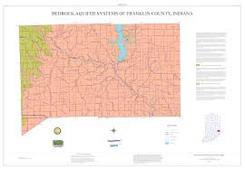 Indiana Counties Map Dnr Aquifer Systems Maps 78 A And 78 B Unconsolidated And