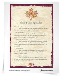 catholic family thanksgiving prayer festival collections