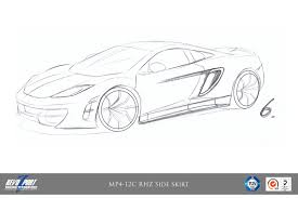 mclaren drawing mclaren product by revozport