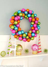 multi colored ornament wreath wreath meaning sumoglove