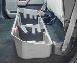 Dodge Gun Vaults Truck Under Seat Storage Truck Under Back Seat Storage For Chevy