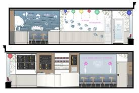 Ice Cream Shop Floor Plan New Forest Ice Cream High Quality High Street Fitout