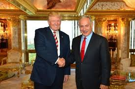 donald trump in his new york penthouse with israeli prime minister