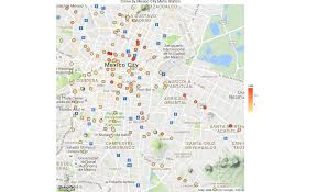 Juarez Mexico Map by How To Create Crime Maps Of Mexico City