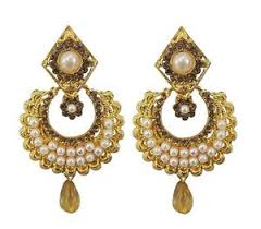 beautiful gold earrings beautiful gold plate fashion pearl stud gold earrings women