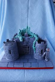 knight dragon and castle cake here is the complete picture u2026 flickr