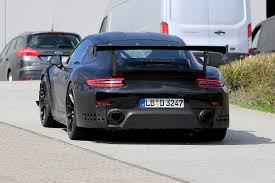 2018 porsche 911 gt2 rs spy shots at the nurburgring gtspirit