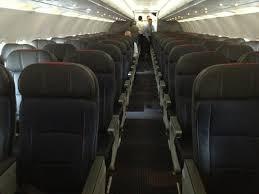 American Airlines Comfort Seats A Sneak Peek Inside The New American Airlines Airbus A319 Service