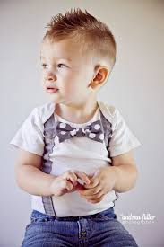 trendy short faux hawk hairstyle for toddler boys hair for boys