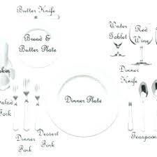 formal dinner table setting basic table setting for dinner proper table setting dining table
