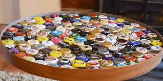 beer cap table top this bottle cap table was made over a weekend for 60 business insider