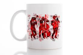 jazz mug music mug coffee mug tea mug unique mug funny mug