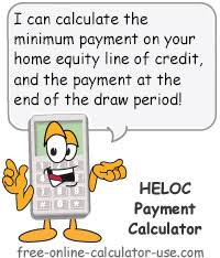 What Does Heloc Stand For by Heloc Payment Calculator With Interest Only And Pi Calculations