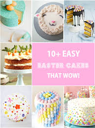 10 easy easter cakes that wow