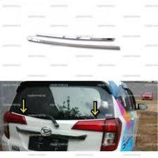 Daihatsu Sigra Trunk Lid Cover Chrome spesifikasi 2pcs toyota calya daihatsu sigra garnish lis cover kaca