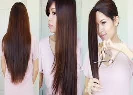 hairstyles for long hair at home videos youtube the best hair hack e299a5 how to cut layer your hair at home youtube jpg