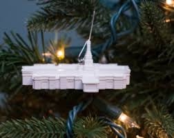 fort collins co lds temple christmas ornament