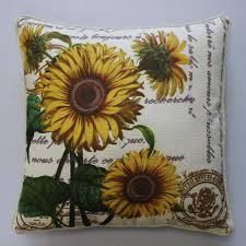 Cushion Covers For Sofa Pillows by Online Get Cheap Sunflower Cushions Aliexpress Com Alibaba Group