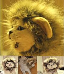pet costume halloween pet costume lion mane wig for dog halloween cloth festival fancy