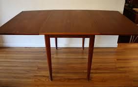 furniture folding table picked vintage of mcm teak dining table