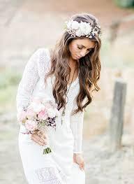 fleurs cheveux mariage thème une couronne de fleurs pour mon mariage l photography