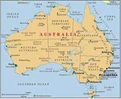 australia map of cities map australia major cities maps of the world