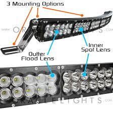 automotive led light bars 52 288w dynamic bluetooth led curved light bar part 5763