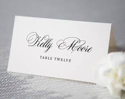 printable placecards printable place card etsy
