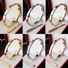 rose bangle bracelet images Hot fashion silver rose gold plated 316l stainless steel white jpg