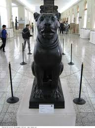 guard dog statue iranian historical photographs gallery statue of a dog made of