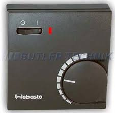 webasto heater thermostat for room temperature control 12v or