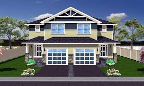 Family Home Plans Multi Family Plan 90891 At Familyhomeplans Com