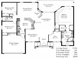 Four Bedroom House Floor Plans by Bedroom House Plans Open Floor Plan 4 Bedroom Open House Plans
