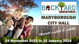 backyard adventures interactive science exhibition wide bay kids