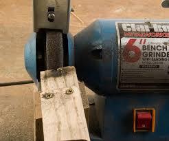 Bench Grinder Knife Sharpener Best Woodworking Planer Reviews Bench Grinder Sharpening Jig