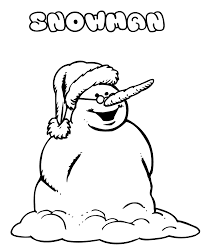 coloring pages winter snowman with glasses winter coloring pages