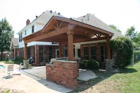 decorating interesting wood patio roof designs and charming wood
