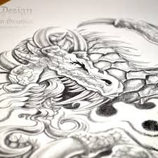 dark dragon tattoo download dark design graphics graphic