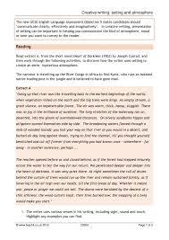 ks4 critical reading teachit english
