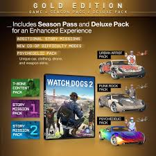 are the watch dogs 2 deluxe and gold editions worth buying game