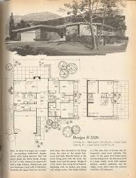 Mid Century Modern House Plan Vintage House Plans Mid Century Homes 1970s Homes Vintage