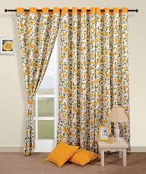 Premium Curtains Living Room Door Dressing Premium Cotton Drape Panel Window Eyelet